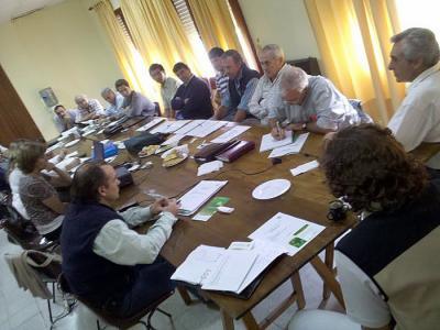 Reunión de CLA INTA en Gral. Villegas