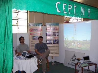 Nos encontramos en la Exposición Rural de Rivadavia